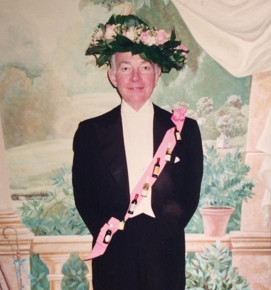 Michael Nash Ambler at the 1996 Leap Year Assembly